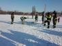 Školení záchrana tonoucího propadlého ledem 2018